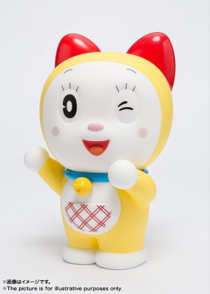 10cm Doraemon Dorami Action Figure PVC Collection Model toys brinquedos for christmas gift free shipping