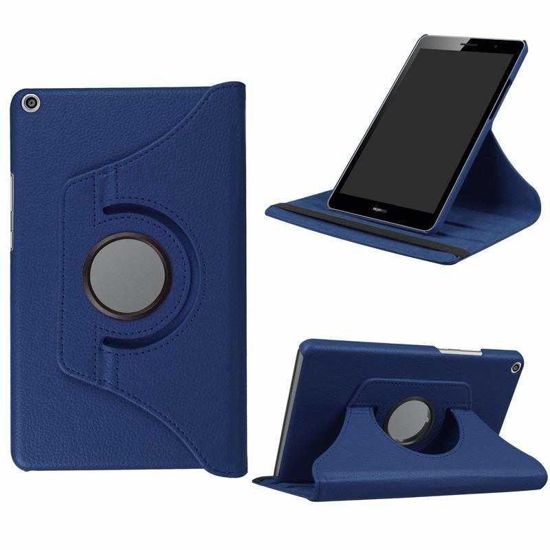 360 Rotating Flip Stand Case Cover For Huawei Mediapad T3 8.0 KOB-L09 KOB-W09 Tablet Case For Huawei T3 8 Honor Play Pad 2 8.0