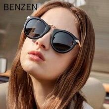 Солнечные очки benzen поляризационные женские винтажные солнцезащитные