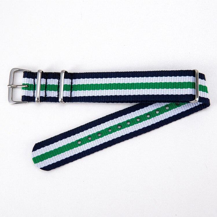 Montre Bracelet En Nylon Coloré bande pour montre-bracelet