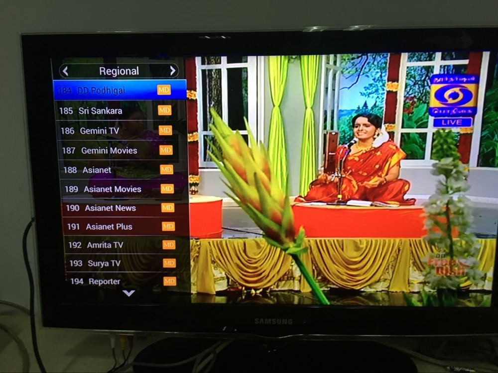 US $180 0 |Indian/pakistan/bengla tv box add shalom tv and dd podhigai-in  Radio & TV Broadcast Equipments from Consumer Electronics on Aliexpress com