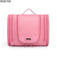 HMUNII Brand Men S Cosmetic Bag Professional Make Up Artist Make Up Brush Beauty Bag Travel