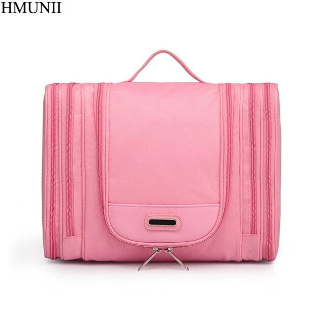 b0754f8ed3ba US $16.36 30% OFF|HMUNII Brand Men's Cosmetic Bag Professional Make up  Artist Make up Brush Beauty Bag Travel Organizer Travel Toiletry Bag B1  41-in ...
