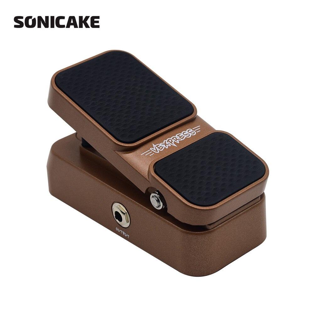 Sonicake пассивный объем выражение гитары педаль эффектов True аналоговый цепи дизайн жесткий пластик легкий корпус Роб QEP-02