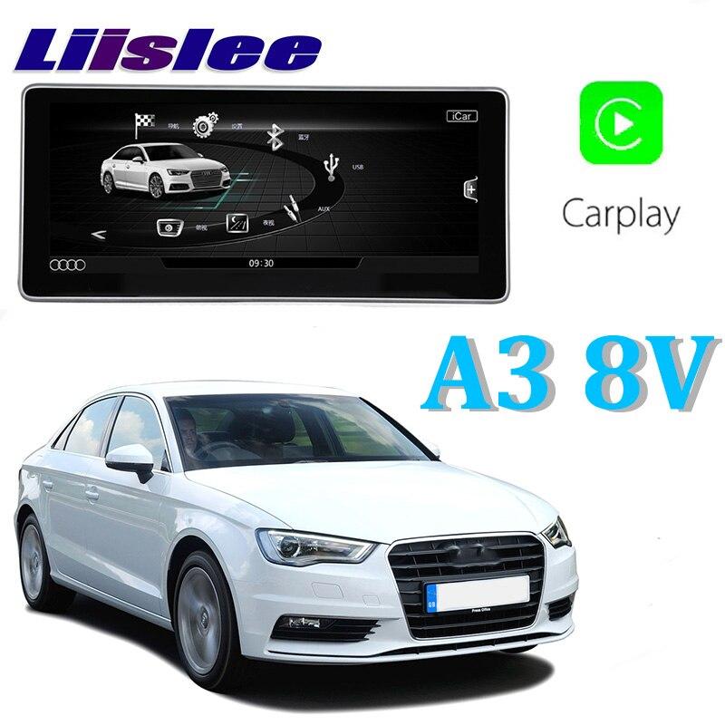 Автомобильный мультимедийный плеер Liislee NAVI 8,8 дюймов для Audi A3 8 V 2013 ~ 2018 первоначально оплащенной автомобиль MMI Стиль Радио Стерео gps навигаци