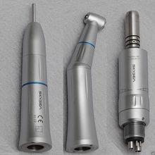 Pièce à main à vitesse lente micromoteur eaux intérieures pulvérisation Kavo pièces à main droites e type brosse moteur à Air laboratoire dentaire micromoteur polonais