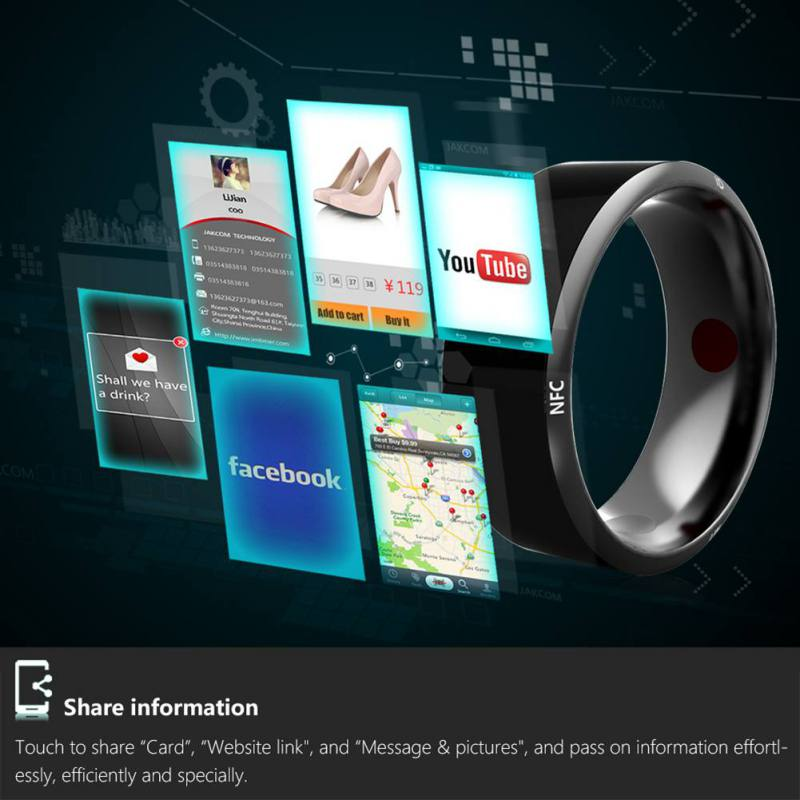 R3 R3F MJ02 New Technology Magic NFC Smart Rings 6