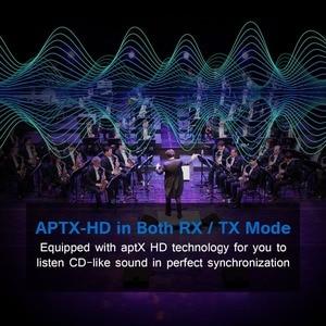 Image 2 - Crdc 블루투스 5.0 오디오 송신기 수신기 csr8675 aptx hd 어댑터 광학 toslink/3.5mm aux/spdif 차량용 tv 헤드폰 등