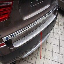 Автомобильный чехол WELKINRY для BMW X3 F25 2011- из нержавеющей стали, задняя крышка, Накладка на порог, накладка на педаль