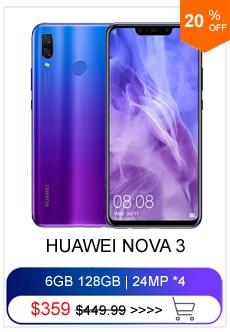 Huawei P20 6 ГБ 64 ГБ смартфон с NFC полный LTE группа AI двойной сзади Камера 5,8 дюймов полный вид Экран перегружать Android 8,1