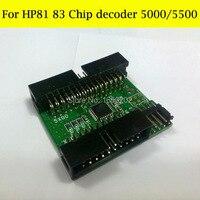 Alta qualidade chip Decodificador para hp designjet 5000 5000 pc 5500 5500 PS para 81 hp hp83