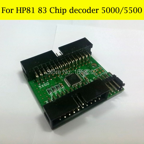 все цены на High quality chip Decoder for hp designjet 5000 5000pc 5500 5500PS for hp 81 hp83