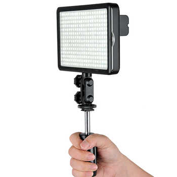 New Godox 308C Bi-Color Dimmable 5500K/3300k LED Video LED Video Studio Light Lamp Professional Video Light with Remote control
