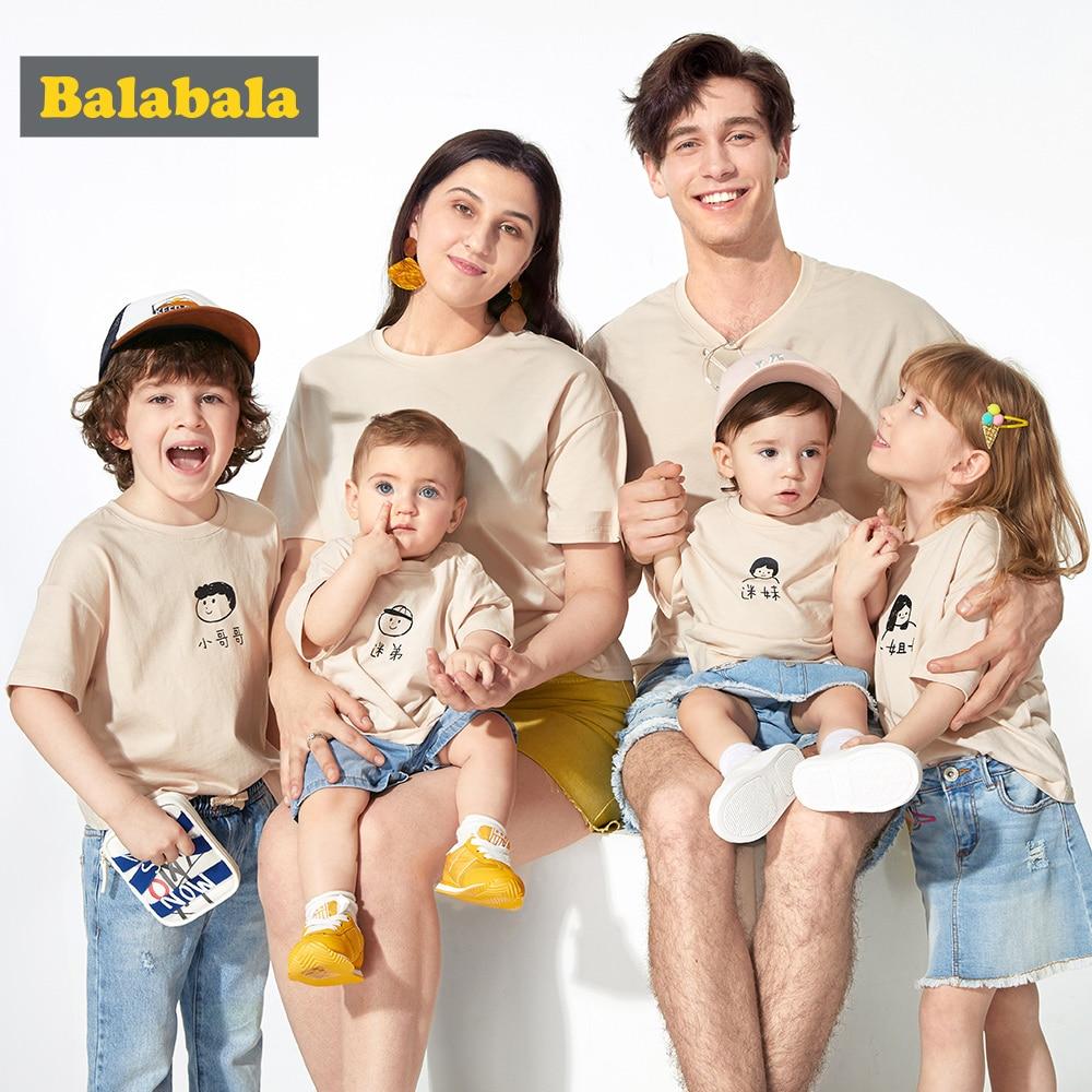 T-Shirt Balabalachildren Short-Sleeve Girl Baby Cotton Summer New Three Boy of Fitted