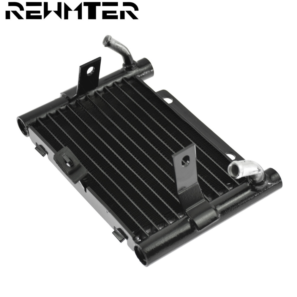 Motorcycle Oil Cooler Repalcement Radiator Water Tank For Harley Touring Street Glide FLHX FLHTCU FLHXS Road King FLHR 2017-18(China)