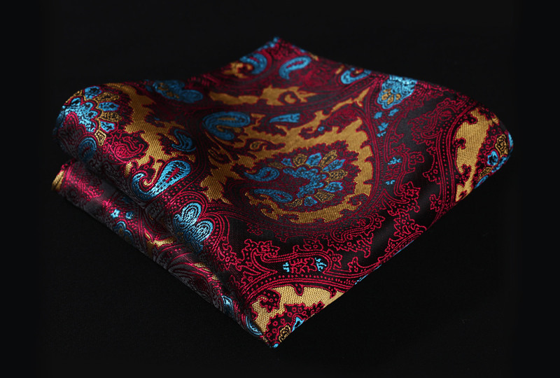 VE17 Burgundy Blue Paisley (3)