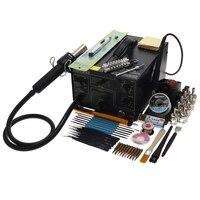 Vender GORDAK 952 doble combinación de pistola de aire caliente Estación de soldadura doble pantalla de temperatura