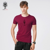 JUEKELONG Summer Men T Shirt 2018 New Straight Cotton T Shirt Men Summer O Neck Printed