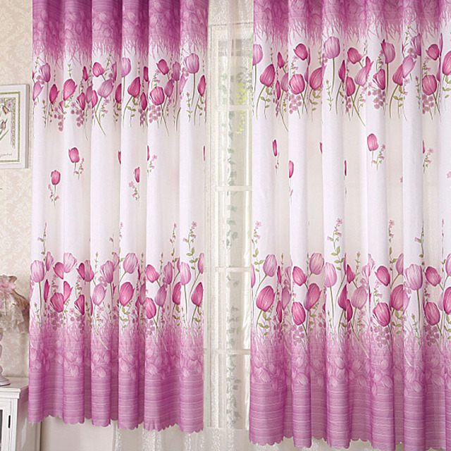 Simple Modern Pure Cotton Velvet Thickened Shade Screens Spot Blackout Curtains  Bedroom Living Room Rideaux Curtain