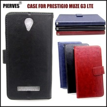 Casteel Classic Flight Series high quality PU skin leather case For Prestigio Muze G3 LTE PSP3511DUO Case Cover Shield