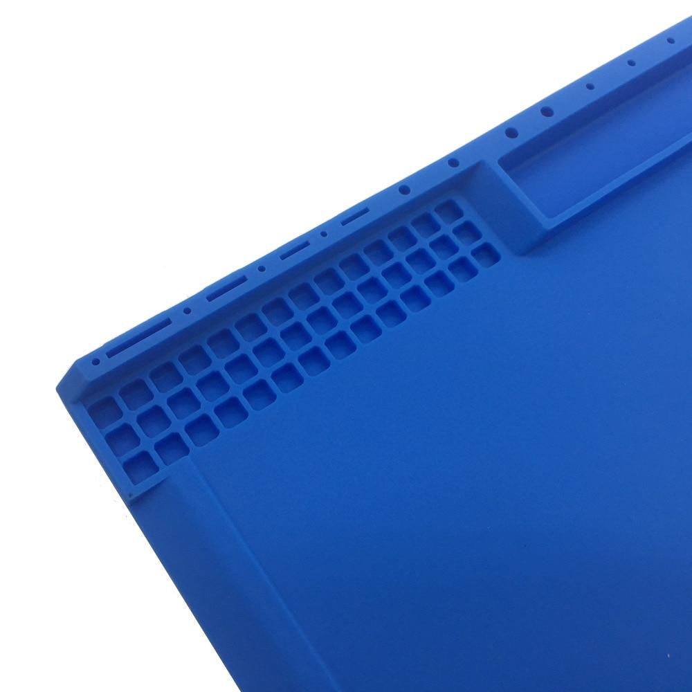 Più nuovo 38x21cm 3 colori Tappetino per vite in silicone ambientale - Set di attrezzi - Fotografia 4
