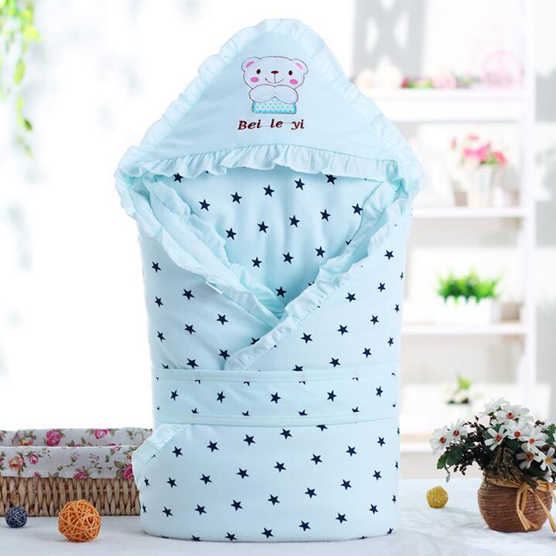 Baby Blanket Newborn Winter Thick Warm Baby Swaddle Comfort Cotton Sleeping Bag Couverture Enfant Newborn Baby Blankets kroyter тетрадь teapot 48 листов в клетку