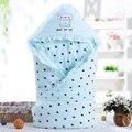 Grossas de Inverno Quente Do Bebê Cobertor do bebê Recém-nascido Swaddle Conforto Algodão Cobertores Do Bebê Recém-nascido Saco de Dormir Couverture Enfant