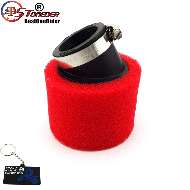 38mm Air Filter For Chinese Pit Dirt Bike ATV Quad GY6 50cc QMB139 Moped Scooter