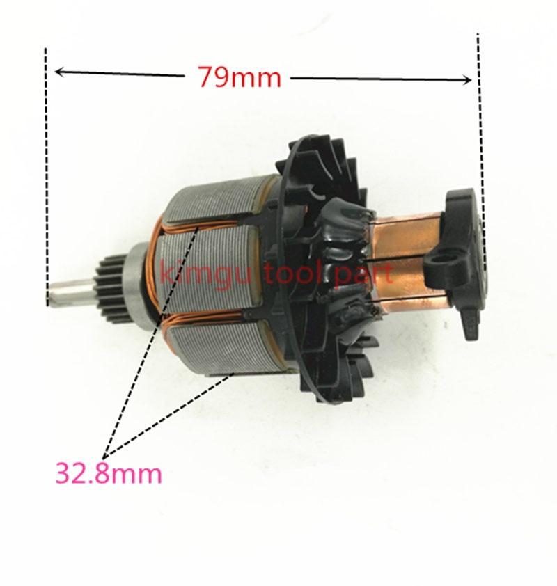 DC18V 14.4V Moteur D'armature N110036 N110037 N268162 N042178 Pour DeWALT DCD780 DCD780L2 DCD780C2 DCD785 DCD785L DCD785C moteur