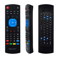 Measy GP811 4 in 1 2.4G Wireless Keyboard Fly Air Mouse Qwerty IR Learning Remote Controller for Android Smart TV Mini PC
