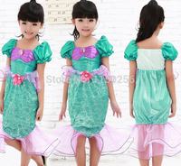 Free Shipping Party Costume Halloween Carnival Costume For Kids S/M/L/XL Mermaid Christmas Costume Wholesale/Retails New