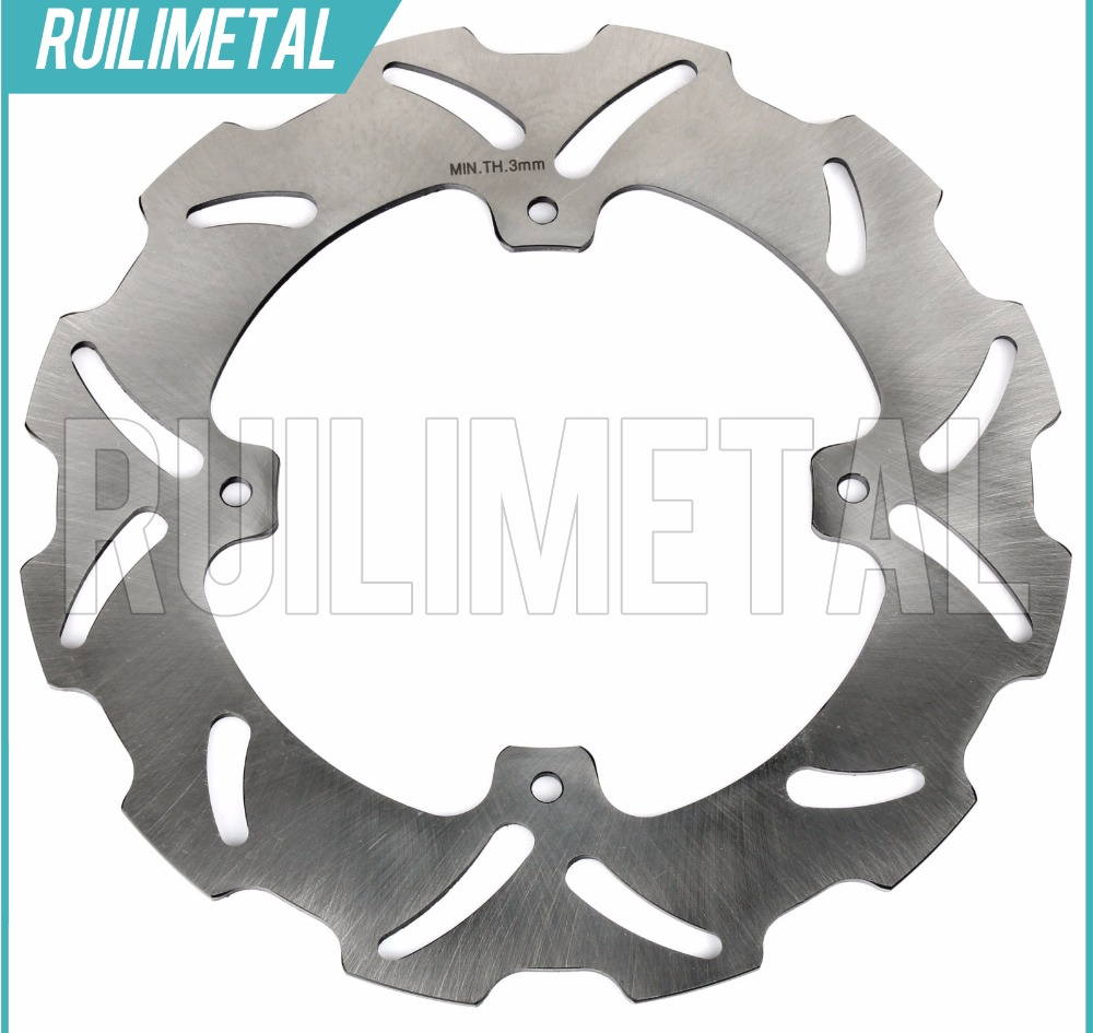 Rear Brake Disc Rotor for HONDA CR 125 250 R E CRF 250 450 X 2004 2005 2006 2007 2008 2009 2010 2011 2012 mfs motor motorcycle part front rear brake discs rotor for yamaha yzf r6 2003 2004 2005 yzfr6 03 04 05 gold