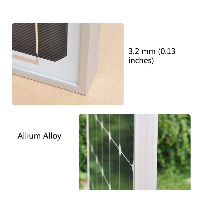 solar panel 12v 100w