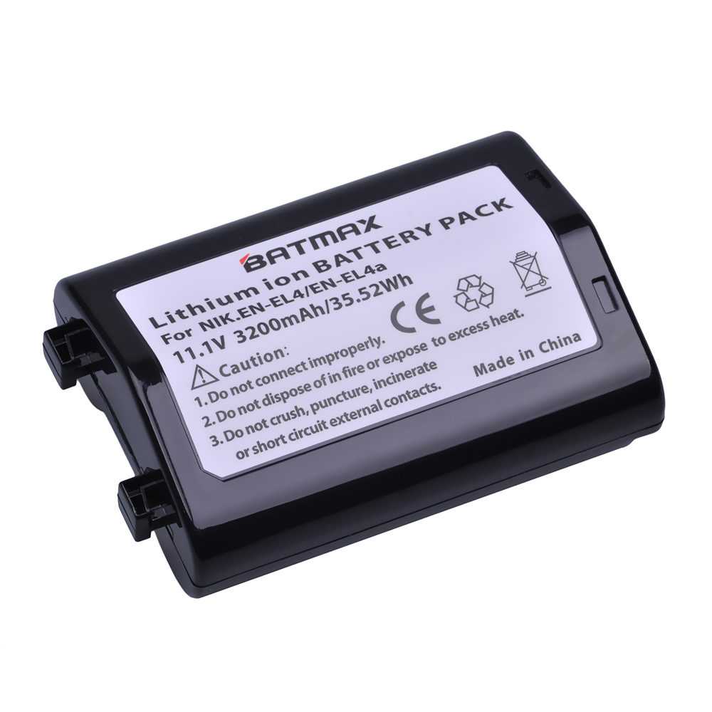 Camera Battery Bateria Nikon Enel4a 3200mah Akku For D2h/D2hs/D2x/.. 1pc