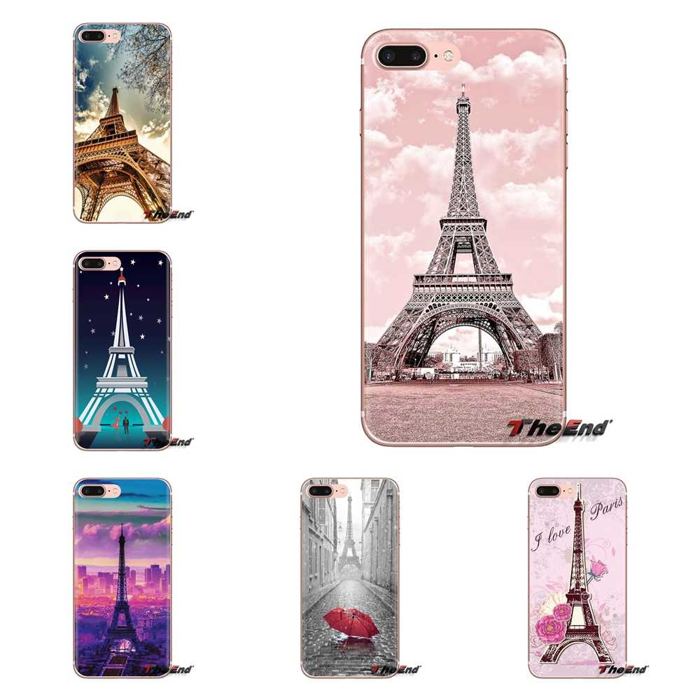 Paris Wallpaper Soft Transparent Cases Covers For Ipod Touch Apple Iphone 4 4s 5 5s Se 5c 6 6s 7 8 X Xr Xs Plus Max Aliexpress