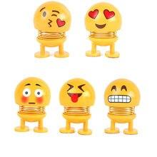 Cute Funny Swinging Nodding Shaking Head Emoji Toys