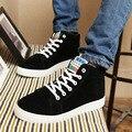 Новый 2016 Высокий Верх Мужская Обувь Зимние Меховые Мужчины Повседневная обувь Мода Zapatos Hombre Теплый зашнуровать Мужская обувь