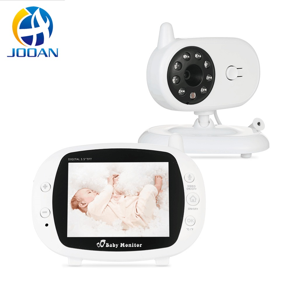 3.5 inch LCD Wireless Video Baby Monitor with Camera Digital Infrared Temperature Monitoring Security Baba Eetronica Com Camera