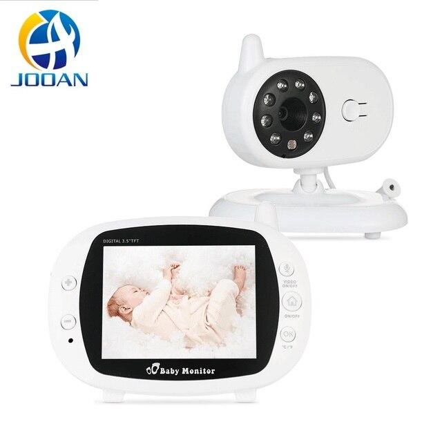 Babyphone Camera bezprzewodowa elektroniczna niania z kamerą cyfrowe monitorowanie temperatury w podczerwieni bezpieczeństwo Baba kamera Eetronica