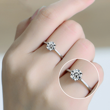 Silver Rings 2016 New Hot Sell Classic Design 925 Sterling Silver CZ diamond Rings for Women Anniversary Gift missita 100% 925 sterling silver rings for women love series heart wedding brand fashion jewelry anniversary gift hot sell