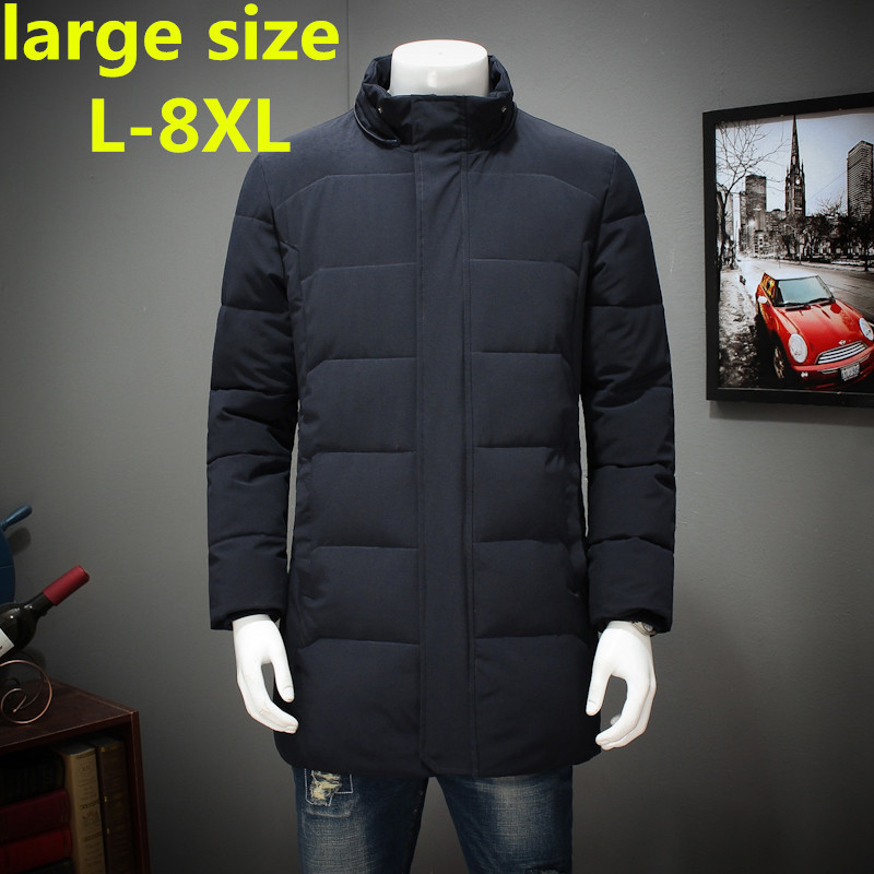 large size 8XL7XLAutumn Winter Parka Men Jacket Coat Outerwear Fashion Hood Padded Quilted Warm Male Jackets Hooded Casual Wadde winter jacket men 2016 brand parka plus size men s hooded parka zipper quilted coat casual jackets