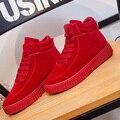 Новая Мода Известный Бренд Высокие Верхние Случайные Женщина Обувь Женщина Зашнуровать Платье Платформа Мягкая Обувь Sapatos Zapatillas Deportivas Mujer