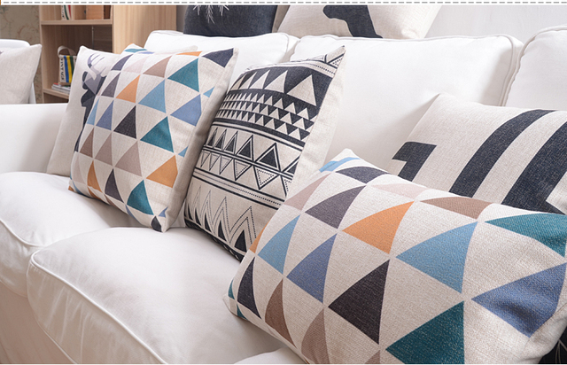 Nordic Style Decorative Pillow Covers 17 x 17 inch