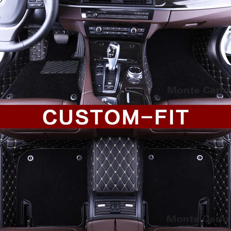 カスタムフィット車のフロアマット用bmw 2 3シリーズf22 f23 f45 f46 e46 e90 e91 e92 e93 f30 f31 f34車のスタイリングカーペットラグライナー