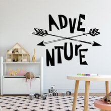 Fashion adventure Vinyl Decals Wall Stickers Removable Sticker Rooms Home Decoration