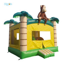 Commercial Grade Inflatable Bouncer Monkey Castle Inflatable Jumper For Sale