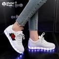 Детские светящиеся кроссовки с USB  Размер 27-42 для девочек и мальчиков  женская обувь со светящиеся кроссовки светодиодные кроссовки с подсве...