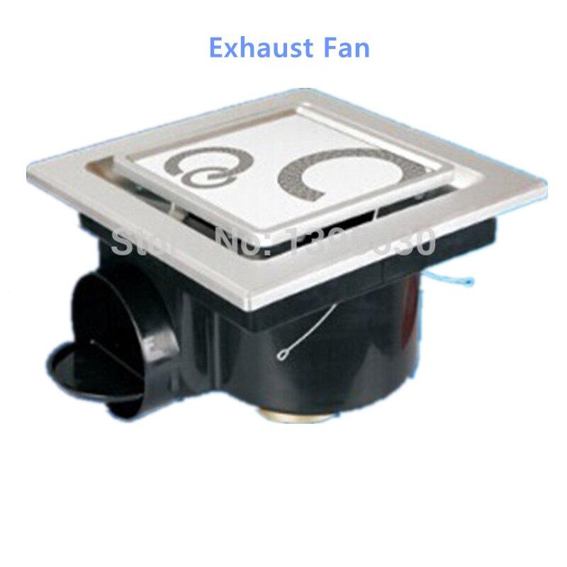 Ducted exhaust fan bathroom