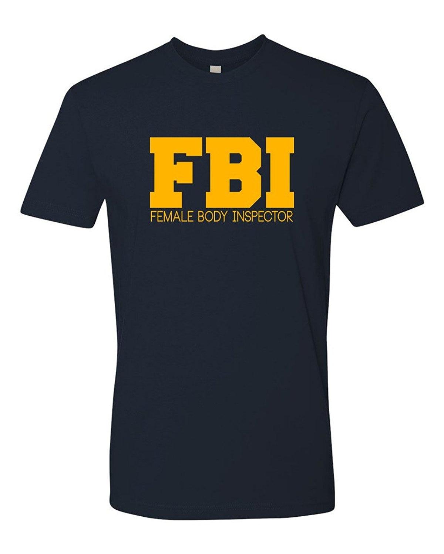 Men' Fbi Female Body Inspector T Shirt Printing Short