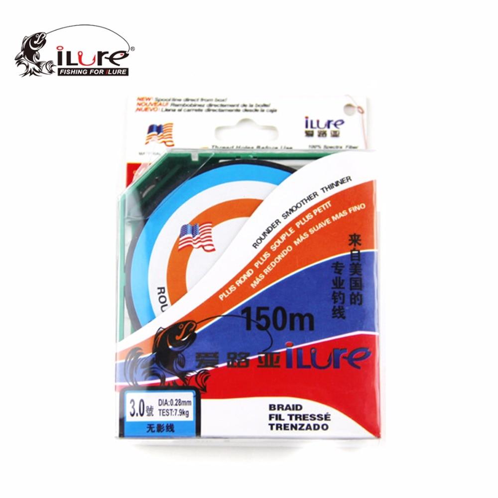 iLure Marka 150M örtüklü Fluorocarbon Balıqçılıq Xətti - Balıqçılıq - Fotoqrafiya 4